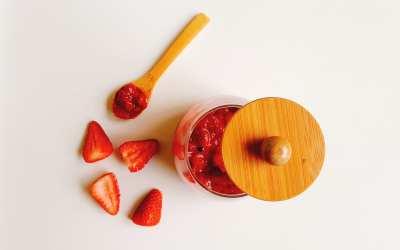 طريقة عمل مربى الفراولة بدون سكر