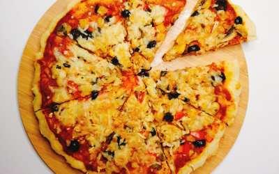 طريقة عمل البيتزا الصحية