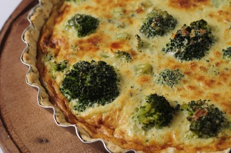 tarta integral de brocoli