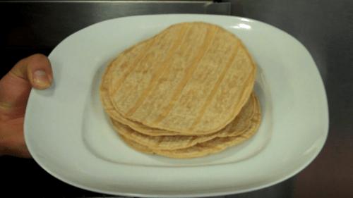 Tostadas With Picante Sauce 2