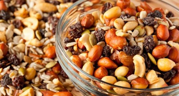 Mix de castanhas, uma opção cheia de energia e nutrientes