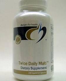 TWICE DAILY MULTI™ 240 VCAPS (TWIC6) - NutrimentRx