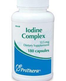 IODINE COMPLEX 12.5 MG 180 CAPS (P01664)