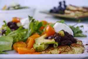 Savory Zucchini Breakfast Soufflé