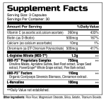 ANXP3 supplement facts