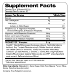 crossover mango pineapple supplement facts