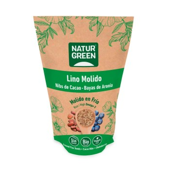 lino molido cacao y aronia naturgreen