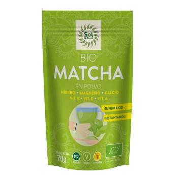 Matcha en polvo bio sol natural