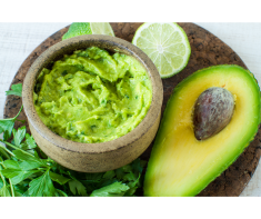 This is an image of avocado dip