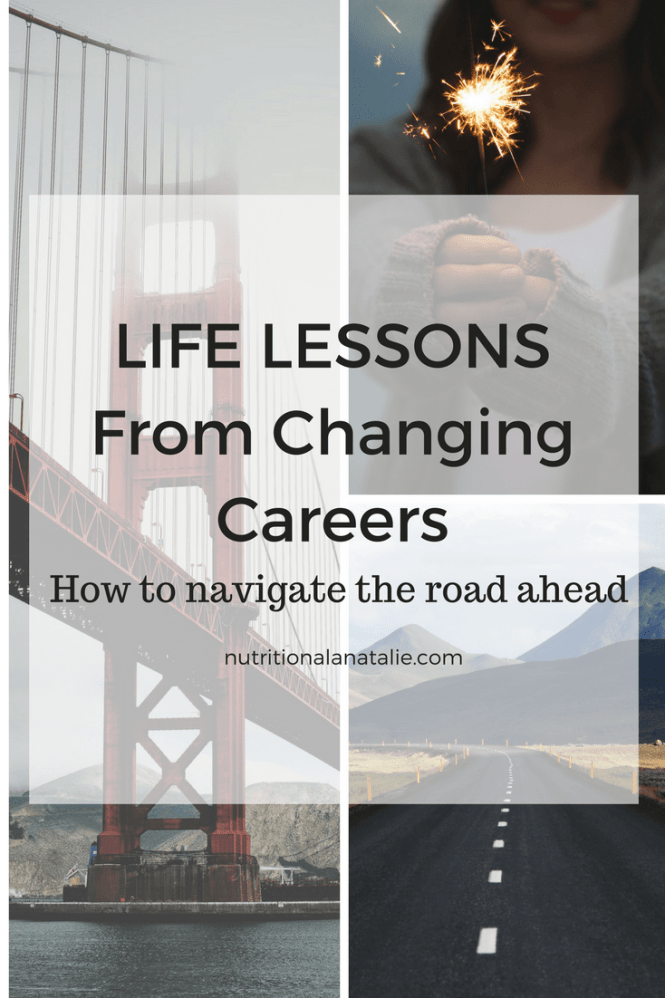 Lessons and tips about changing careers.