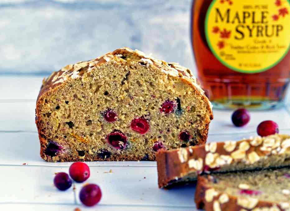 Healthy low-sugar quickbread recipe