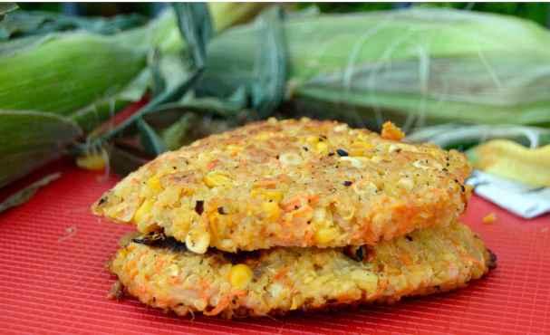 Quinoa Corn Fritters 2