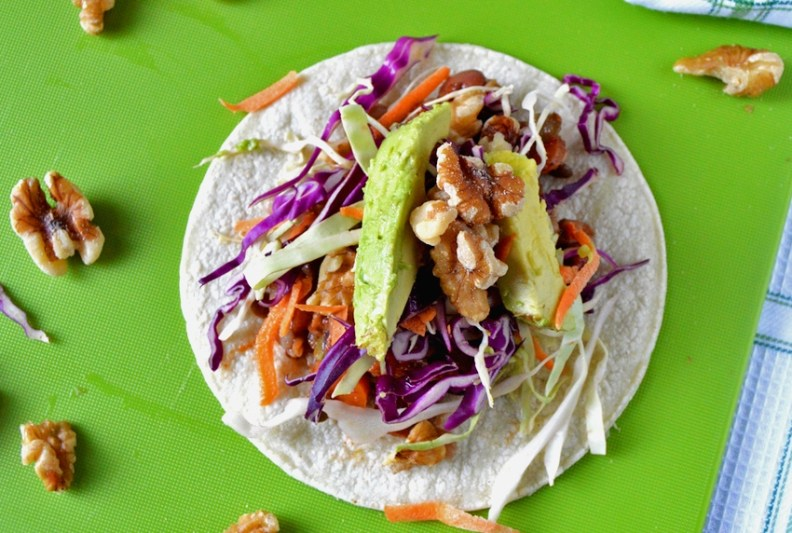 Recipe for vegan tacos
