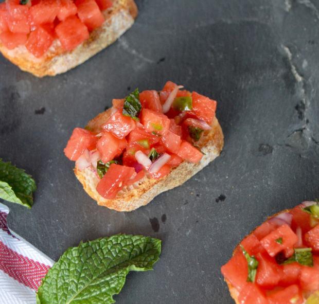Watermelon Bruschetta 1