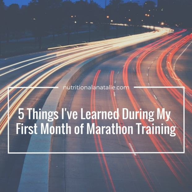 lessons of marathon training
