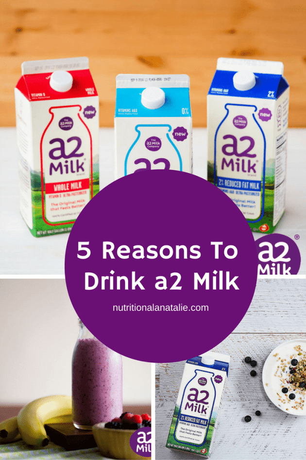 a2 milk is natural cow's milk that people with lactose intolerance can enjoy!