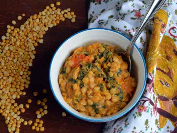 Cheesy Butternut Squash Stew from Nutrition a la Natalie