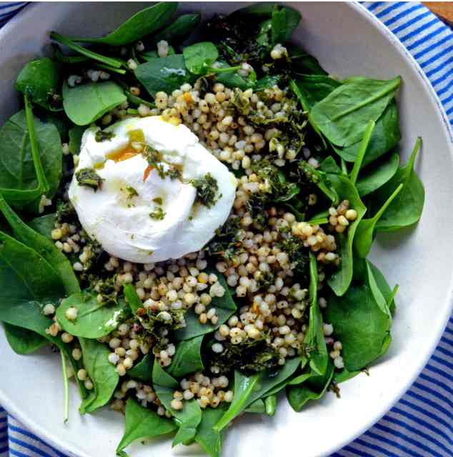 Savory Breakfast Bowl with Sorghum