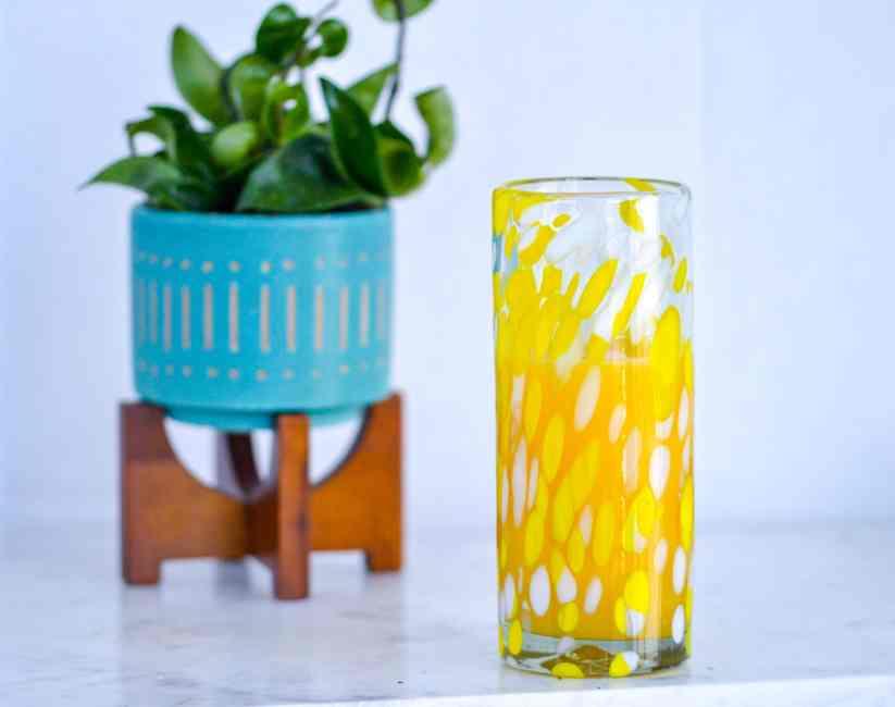 glass of OJ