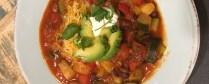 Award Winning Vegetarian Chili