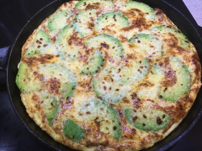 Incredible Avocado Fritatta
