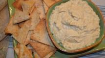 Hummus w/baked Tortilla Chips