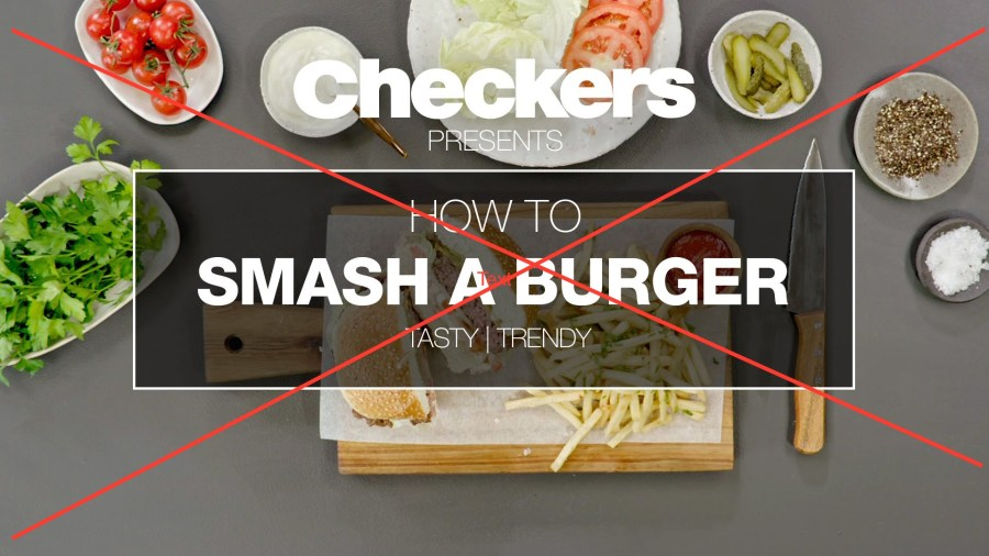 How to smash a burger