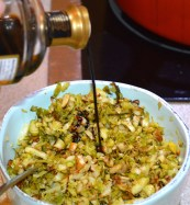 Honey & Balsamic Shredded Brussels Sprouts