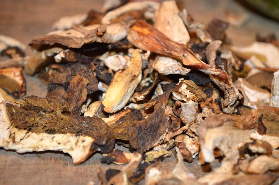 Porchini Mushrooms, Dried