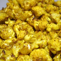 Curry Roasted Cauliflower found in post titled 'Achcha Khana (Good Food)'