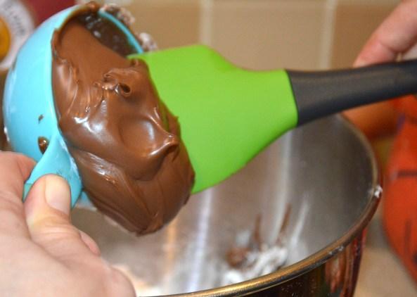 Adding Nutella