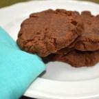 4 ingredient Nutella cookies