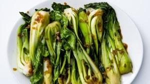 Garlic & Soy Bok Choy