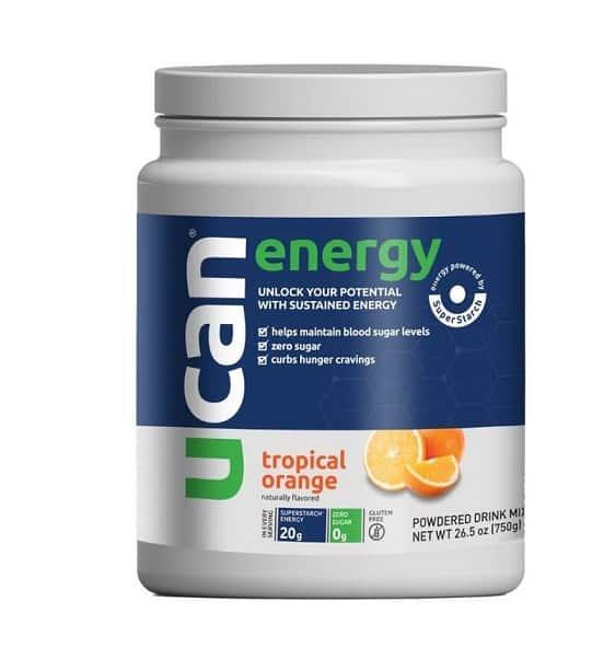 Ucan orange energy tub
