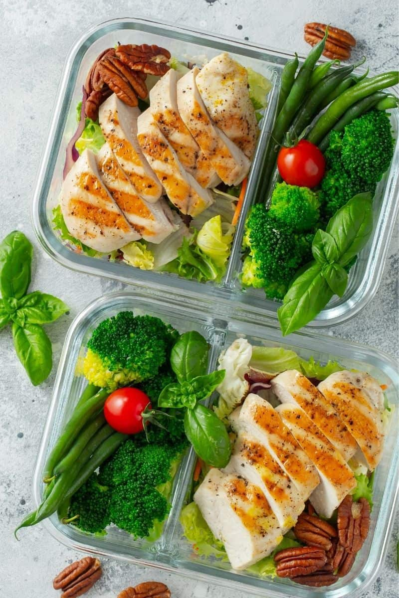 meal prep foods for a keto diet