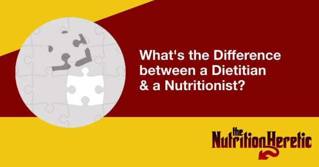 What's the Difference between a Dietitian and a Nutritionist