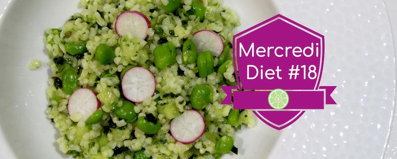 Mercredi Diet #18