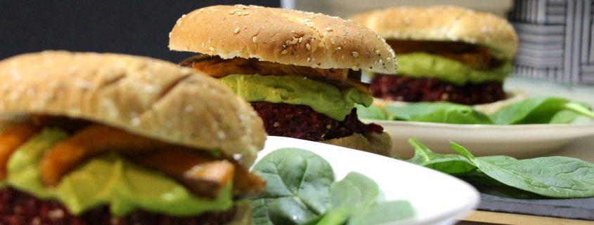 burgers végétariens au quinoa