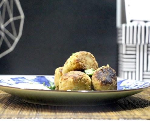 falafels sauce citron et menthe