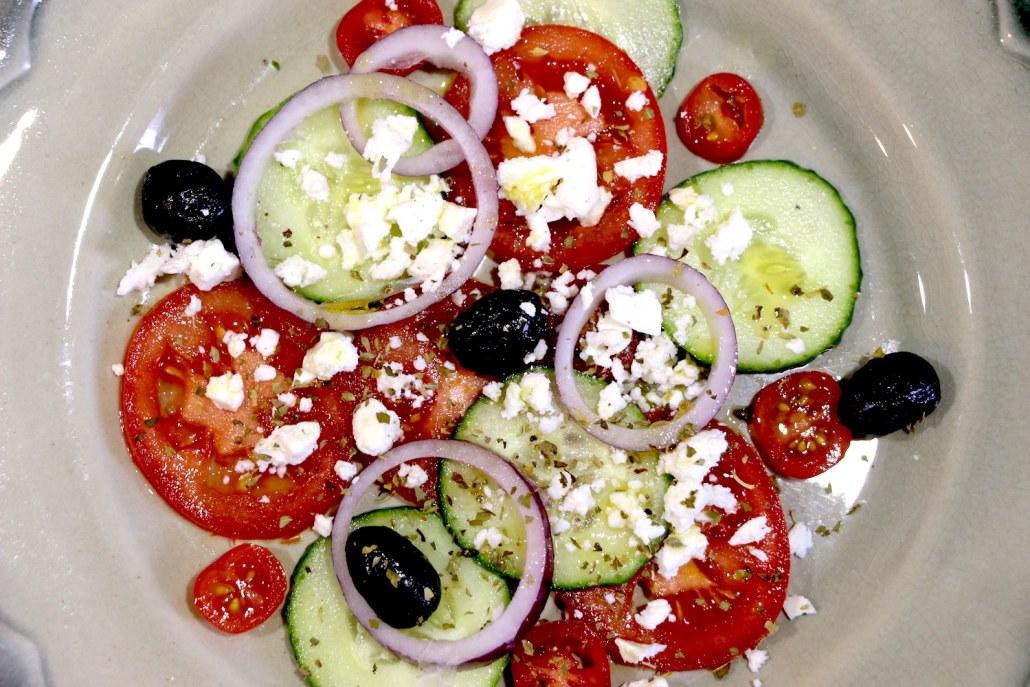 salade grecque express