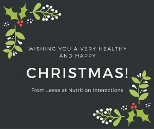 Merry Christmas From Leesa at Nutrition Interactions
