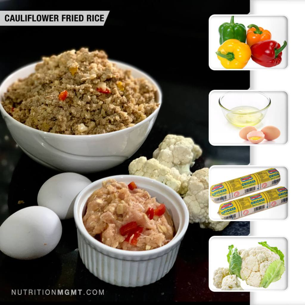 Recipe Cauliflower Fried Rice