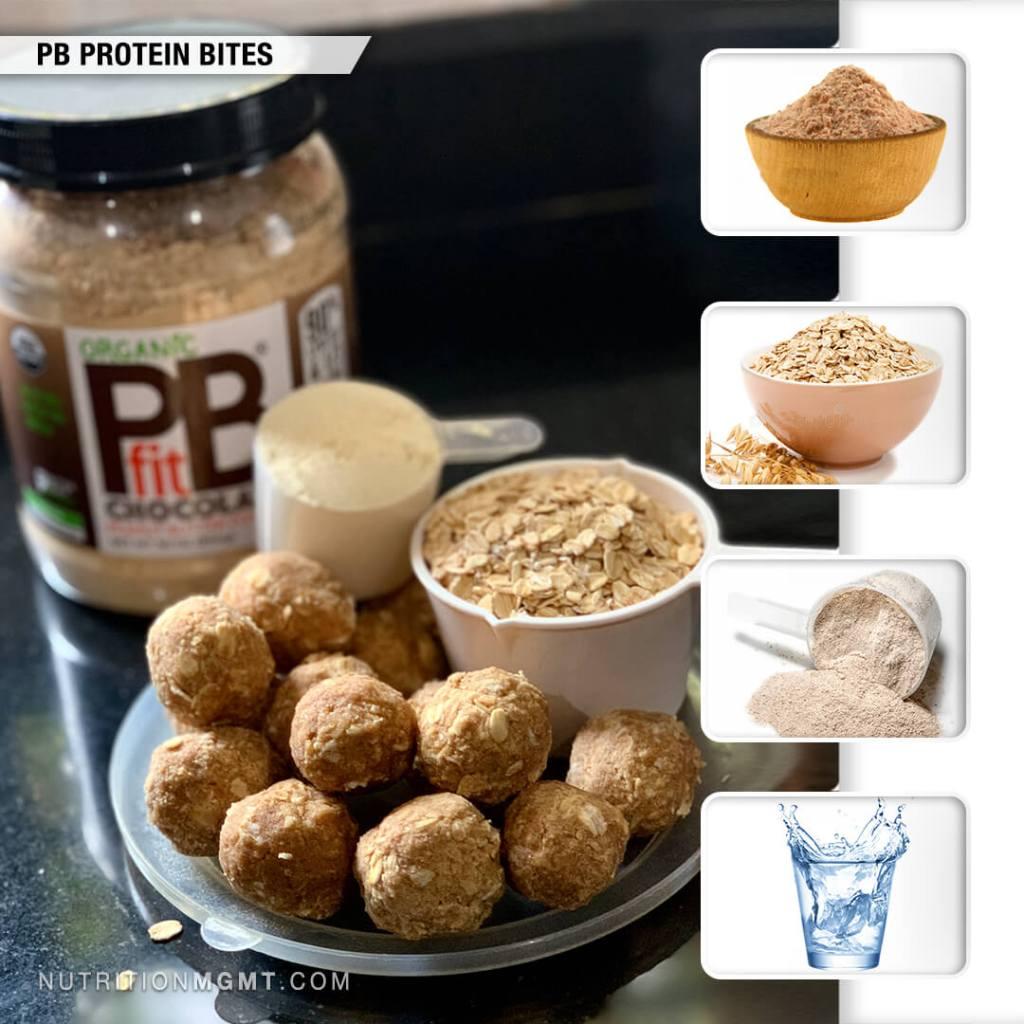 Recipe Peanut Butter Protein Bites