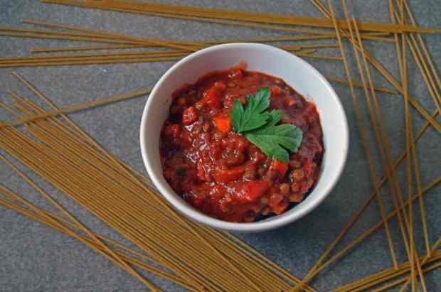 Hide Your Veggies %22Meat%22 Sauce