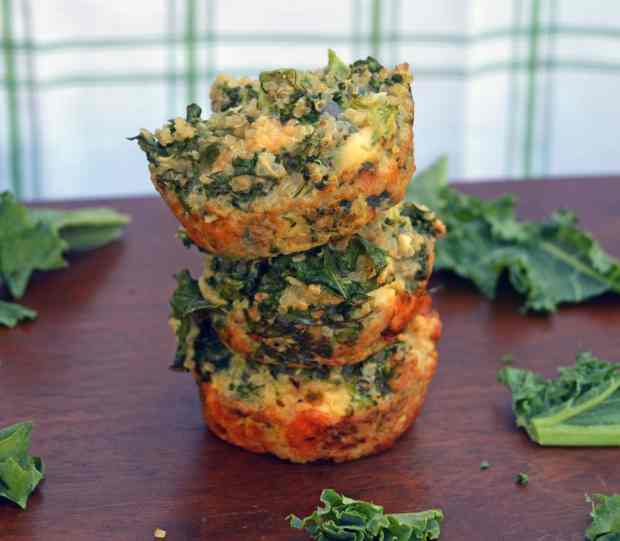 green quinoa muffins 1
