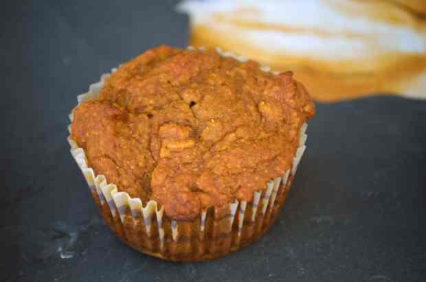 Pumpkin Apple Muffin close-up