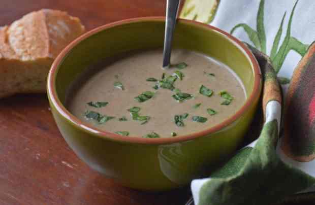 Cauliflower Onion Soup