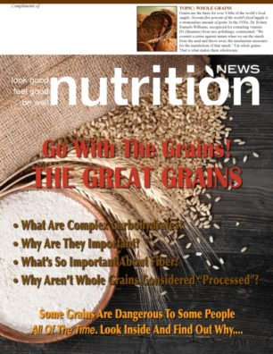 Nutrition News Great Grains Cover
