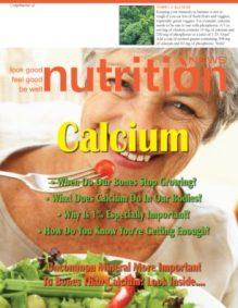 Nutrition News Calcium Cover
