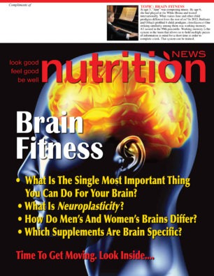 Nutrition News Brain Fitness Cover